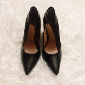 Christian Siriano Black High Heels 5 1/2W Pumps
